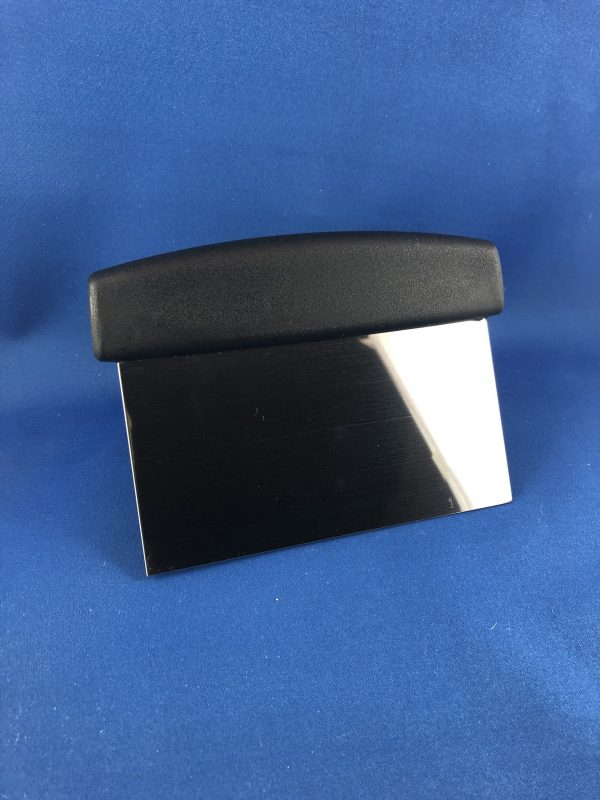 Dough Scraper Stainless Steel with Plastic Handle