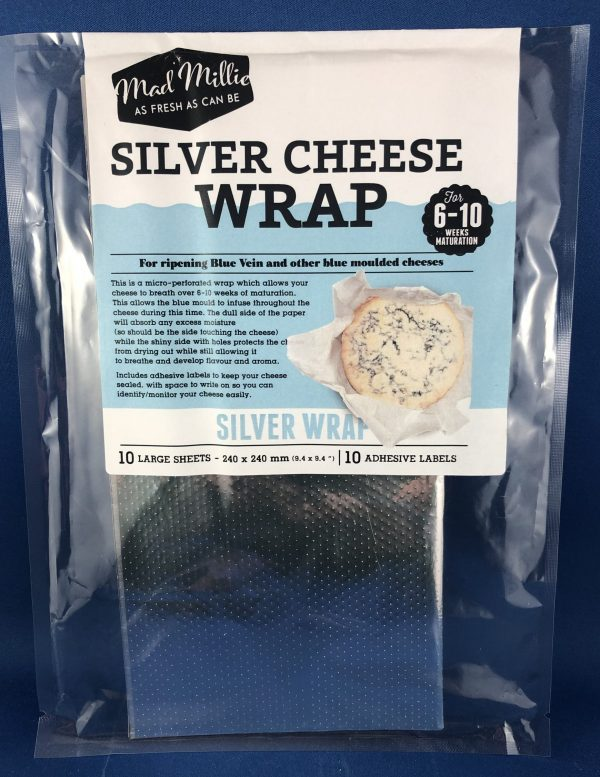 Mad Millie Silver Wrap