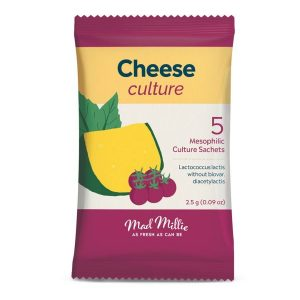 Mad Millie Mesophilic (MW3) Cheese Culture